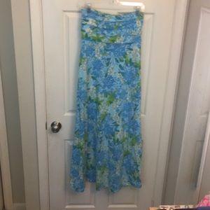 Lilly tube maxi dress